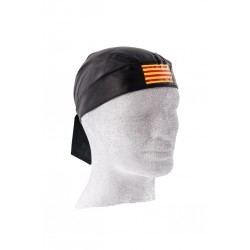 HEAD WRAP LEATHER CATALANA