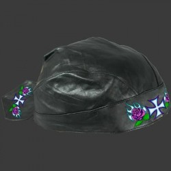 HEADWRAP 34 CROSS & ROSES